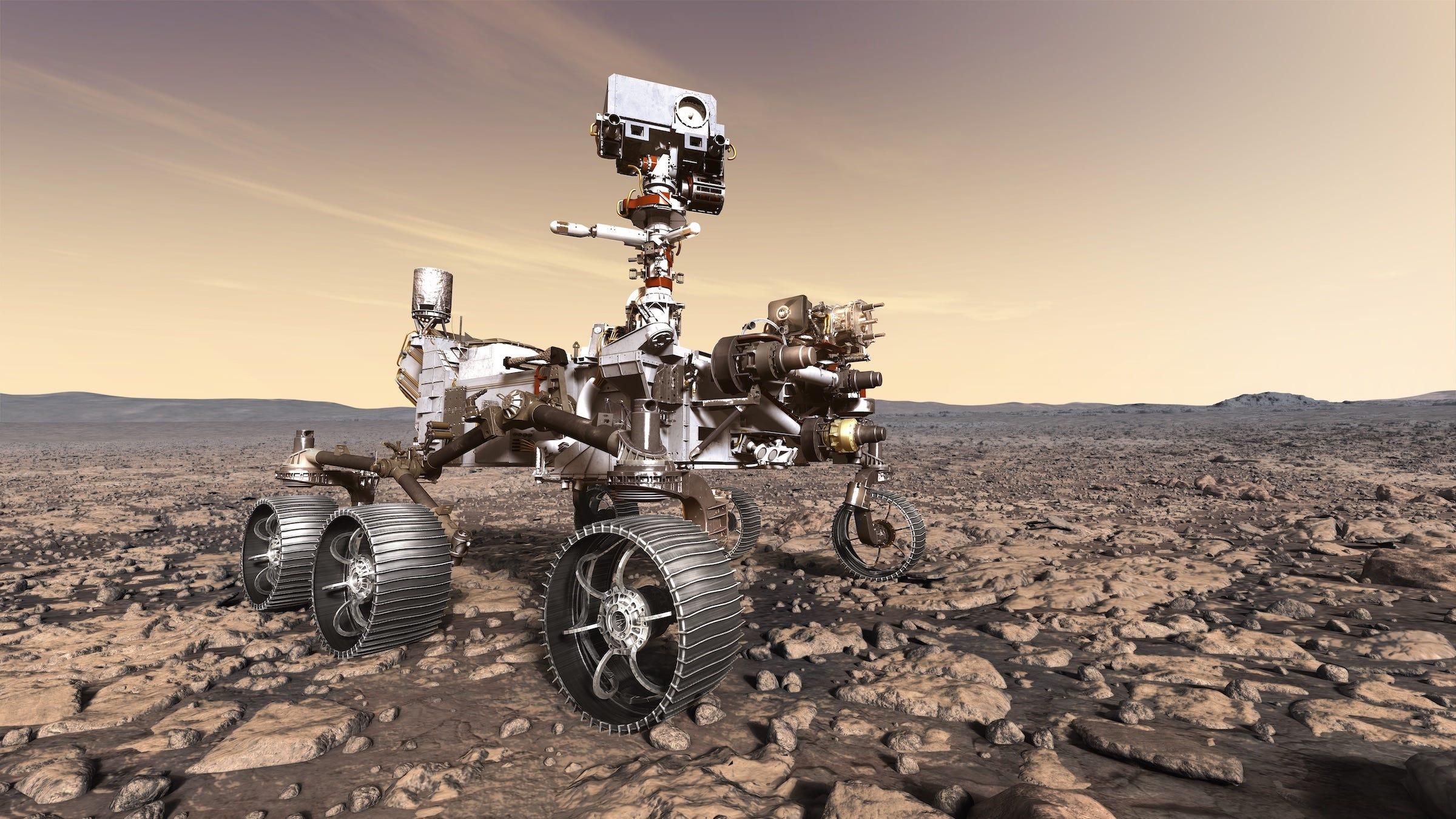 Mars Rover Live
