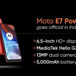 Moto E7 Power goes on sale today: price, specs and availability Moto E7 Power