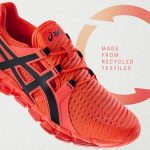Asics launches sustainable new running shoes made from recycled clothes Asics recycled shoe