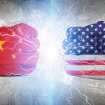 China five-year plan aims for global AI and quantum supremacy China US flags cropped
