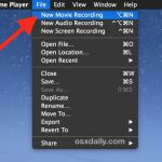 How to record a video on your Mac