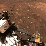 Perseverance rover roves across Mars for the first time
