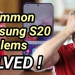 Common Samsung Galaxy S20 problems and how to fix them