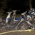 Fatal Tesla crash in Texas appeared to have no driver