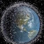 Space junk animation shows how Earth's satellites dodge dangerous debris
