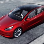 Leak suggests a cheap Tesla could be with us sooner than expected View from above of a red Tesla Model 3