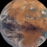 Mars never had a chance: new study says Red Planet just too small to hold onto water An artist's rendering of what Mars would have looked like with its ancient oceans and lakes intact